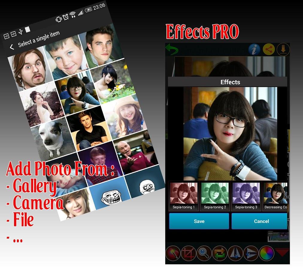 Photo editor plus - screenshot