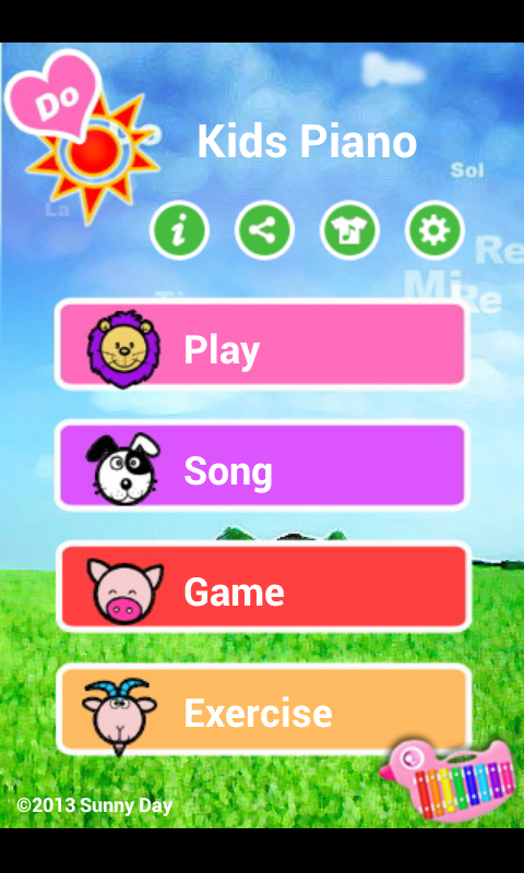 Kids Piano - screenshot