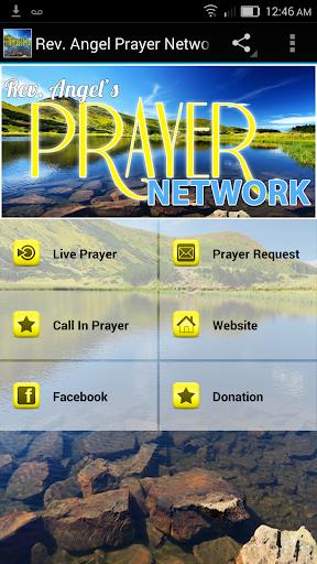24 Hour Live Prayer Network