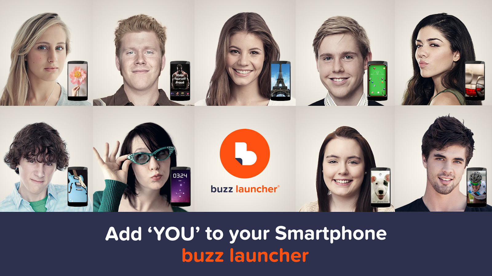 Buzz Launcher-Smart&Free Theme- screenshot