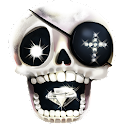 Love skulls Livewallpaper icon