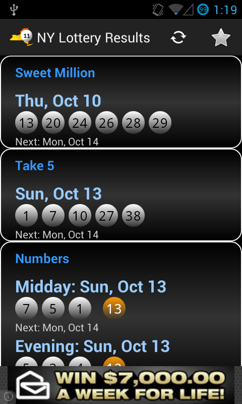 NY Lottery Results - Android Apps on Google Play