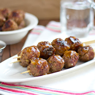 Meatballs with Sweet Plum Sauce