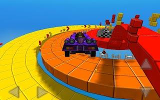 Screenshot of Minicar Champion: Circuit Race