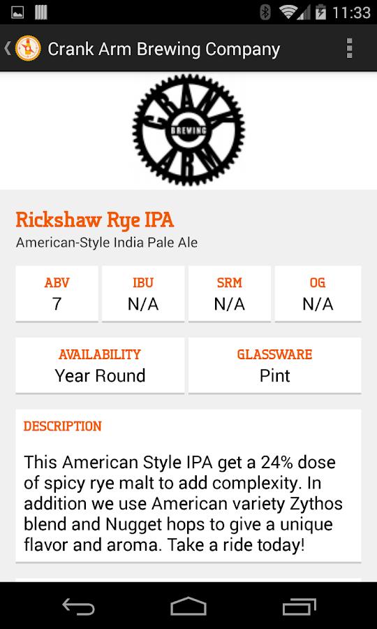 BreweryMap #1 Beer Finding App- screenshot