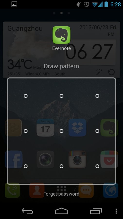 GO launcher EX (русский) - screenshot