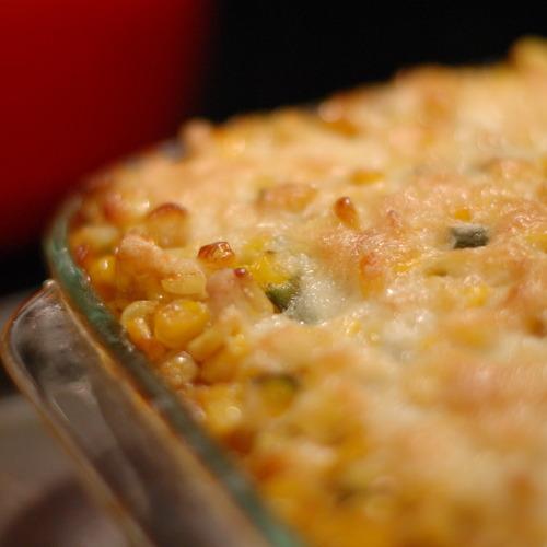 Chili-Corn Casserole with Polenta Recipe