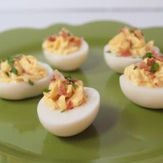 Bacon-Stuffed Eggs