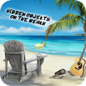 Hidden objects on the beach icon