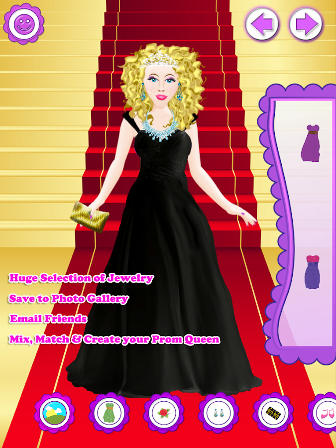 Prom Salon Dress Up Girl Fashion Makeover Game Android
