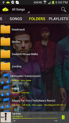 【免費音樂App】CloudAround Lite Music Player-APP點子