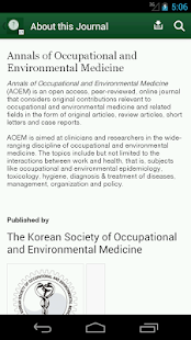 Annals of Occup & Environ Med- screenshot thumbnail
