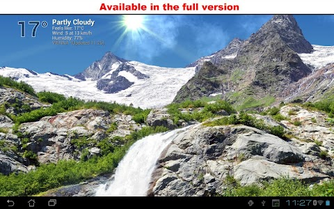 True Weather, Waterfalls FREE screenshot 2