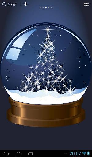圣诞节 - 玻璃球
