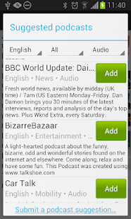 Podcatcher Deluxe - screenshot thumbnail