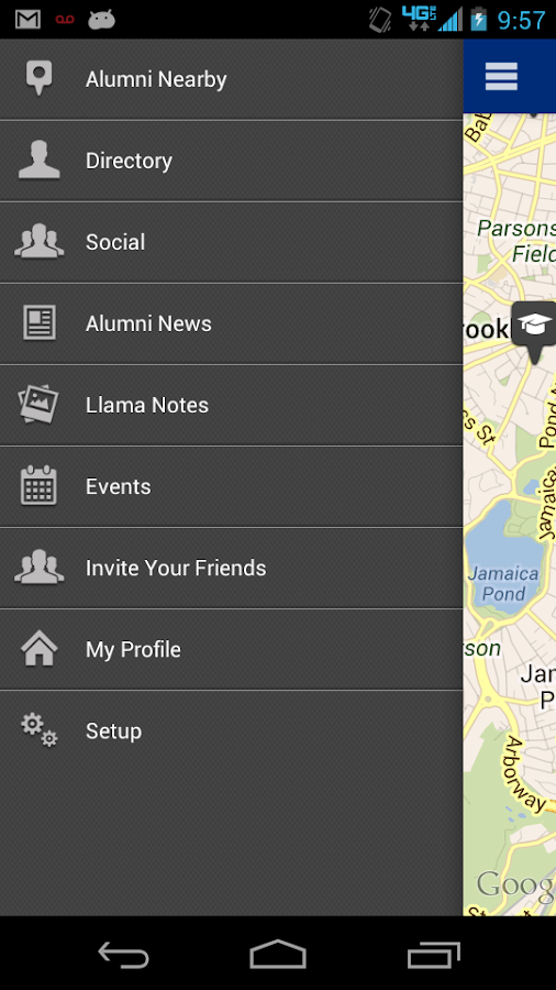 Potomac Alumni Mobile - screenshot