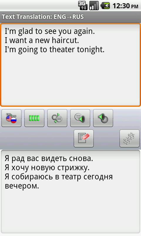 Russian Offline Translator - screenshot
