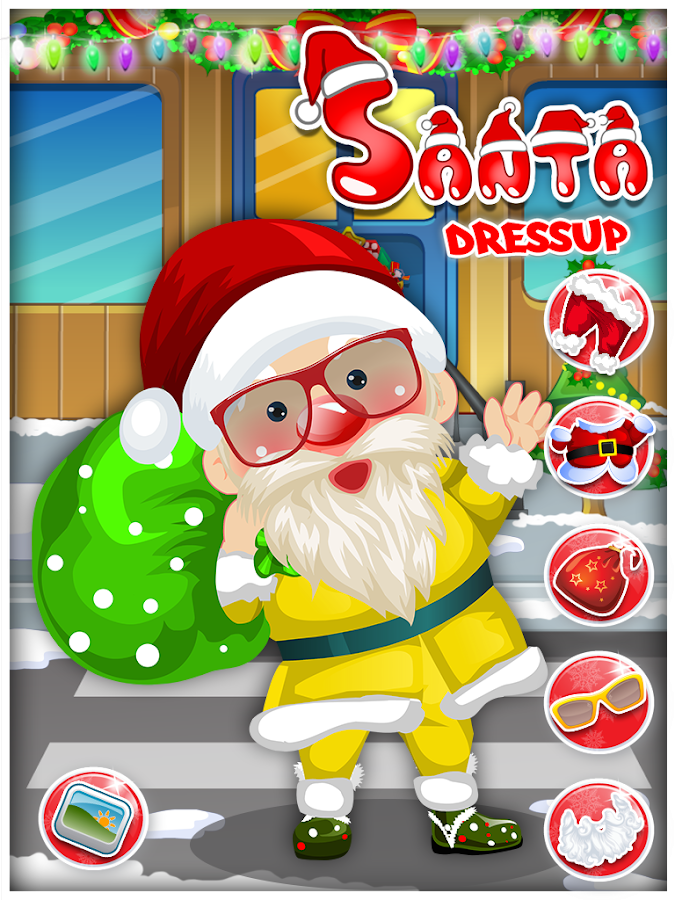 Santa Dressup - Kids Game- screenshot