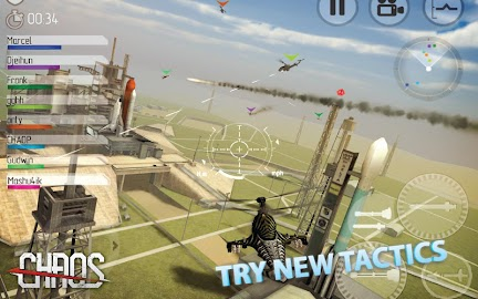 CHAOS Combat Helicopter 3D Screenshot 2