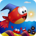 Jump & Splash-tiny Wings Fish logo
