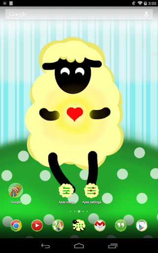 Fluffy Sheep - Apex Theme