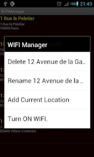 WifiManager PRO (for tablet)- screenshot thumbnail