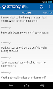 McClatchyDC Nation&World News - screenshot thumbnail