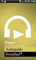 Screenshot of Hopper Exhibition