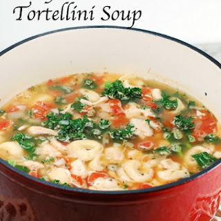 Easy Chicken and Tortellini Soup with Kale