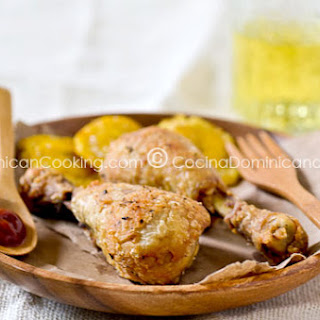 Pica pollo (Deep fried chicken).