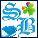 GOWidget Blue ICS Light Free icon