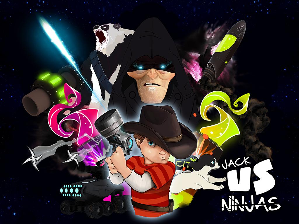 Jack Vs Ninjas - screenshot