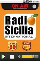 Screenshot of Radio Sicily International