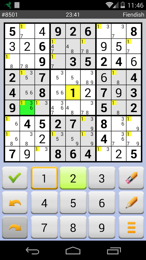 Sudoku 4ever Free - screenshot