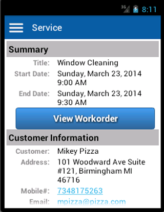 Appointments and Workorders- screenshot