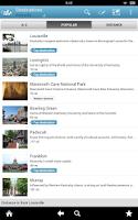 Screenshot of Kentucky Guide by Triposo