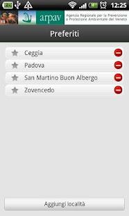 App ARPAV Meteo- miniatura screenshot