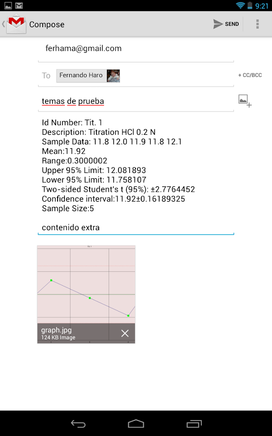 Descriptive Statistics Pro.- screenshot