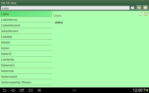 【免費書籍App】German Icelandic dictionary-APP點子