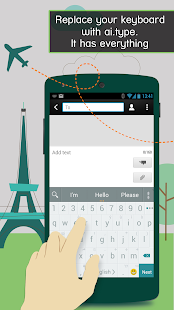 A.I.type Keyboard Free - screenshot thumbnail
