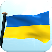 Ukraine Flag 3D Free Wallpaper