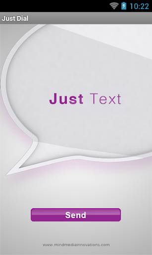Just Text