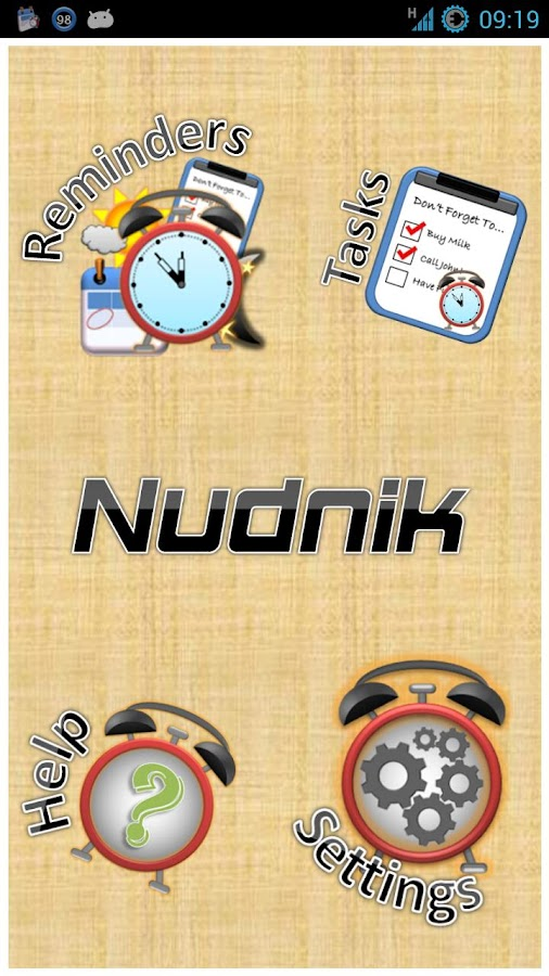 Nudnik Calendar Reminders- screenshot