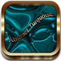 Abstract Turquoise Go Launcher icon