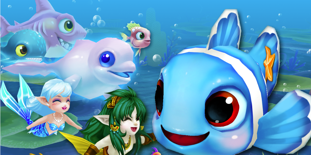 #1. Fish Party Online (Android)