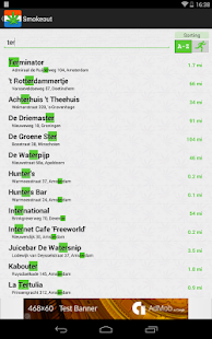 Smokeout - Coffeeshop Finder - screenshot thumbnail