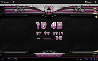 dragon digital clock rose APK screenshot thumbnail 8