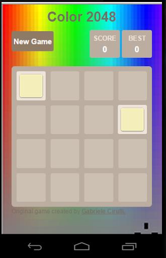 Color 2048