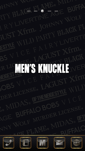 MEN'S KNUCKLE-11brand Theme