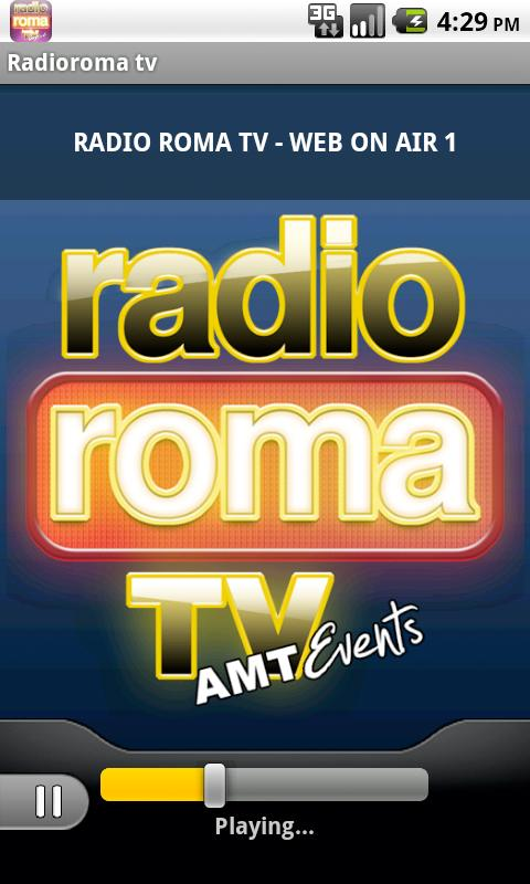 Radioroma tv- screenshot